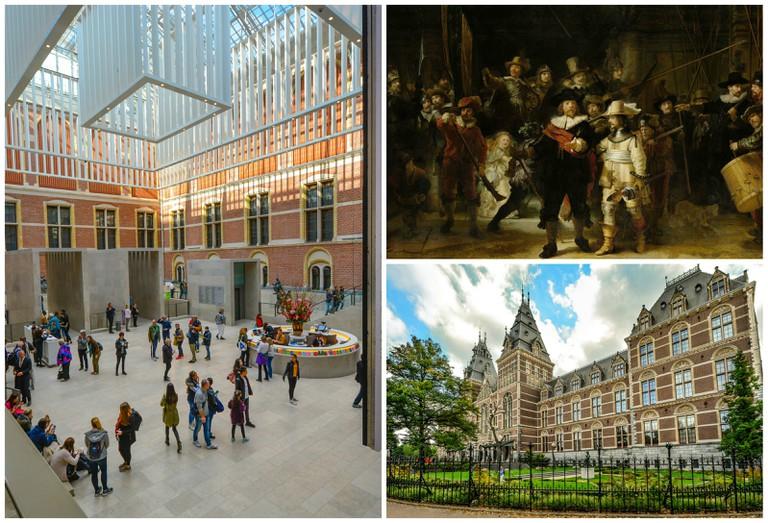 The Rijksmuseum's central atrium