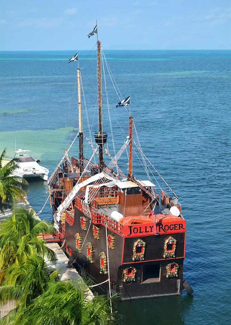 Jolly Roger ship I