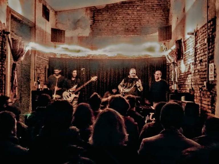The Jazz en el Pasaje event in Buenos Aires
