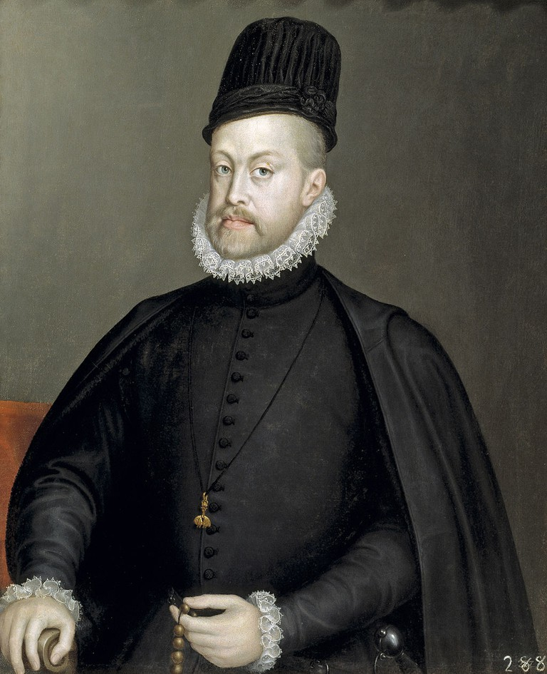 Philip II of Spain   © Sofonisba Anguissola/WikiCommons