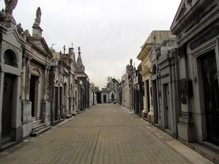 The Recoleta Cemetery, Buenos Aires