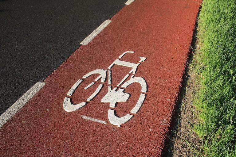 Beware of bike lanes I