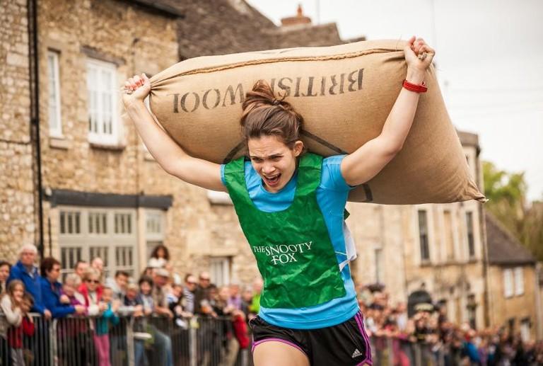 Runner | Courtesy of Tetbury Woolsack Races