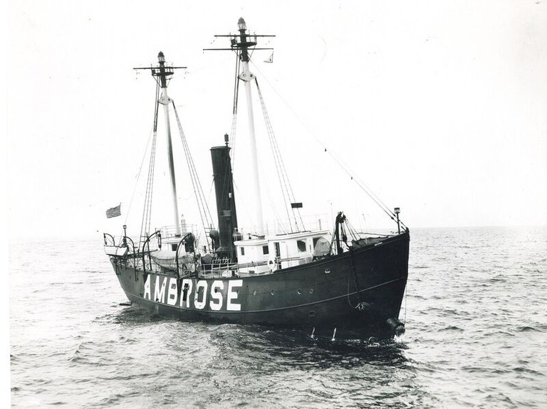 Lightship Ambrose. Unknown-date | © Seaport-Museum-Archives