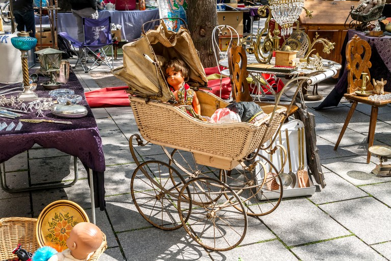Marseille has some wonderful flea markets and car boot sales