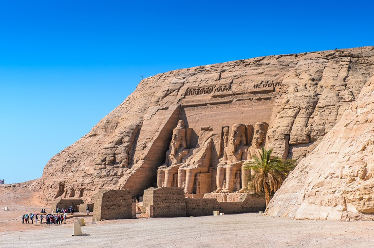 The Great Temple of Ramesses II, Abu Simbel, Egypt   © Anton_Ivanov/Shutterstock