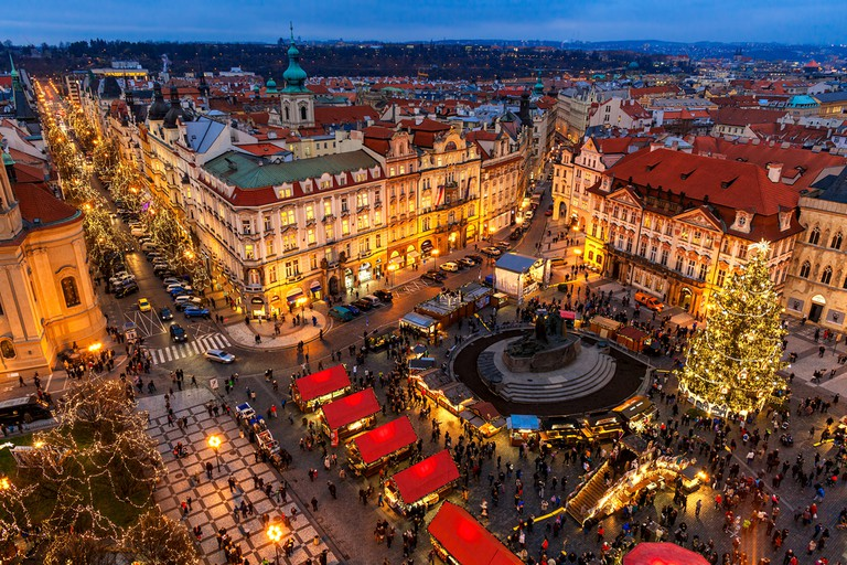 Prague's Christmas market