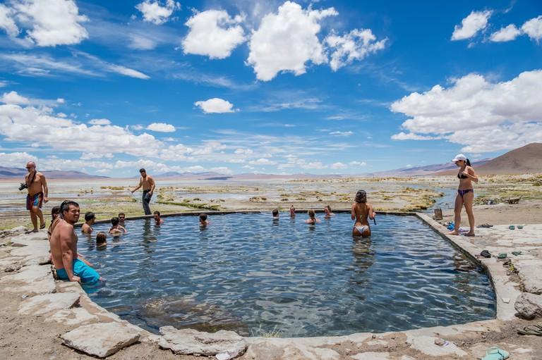 Hot Springs in Eduardo Avaroa © Rudy Mareel/Shutterstock