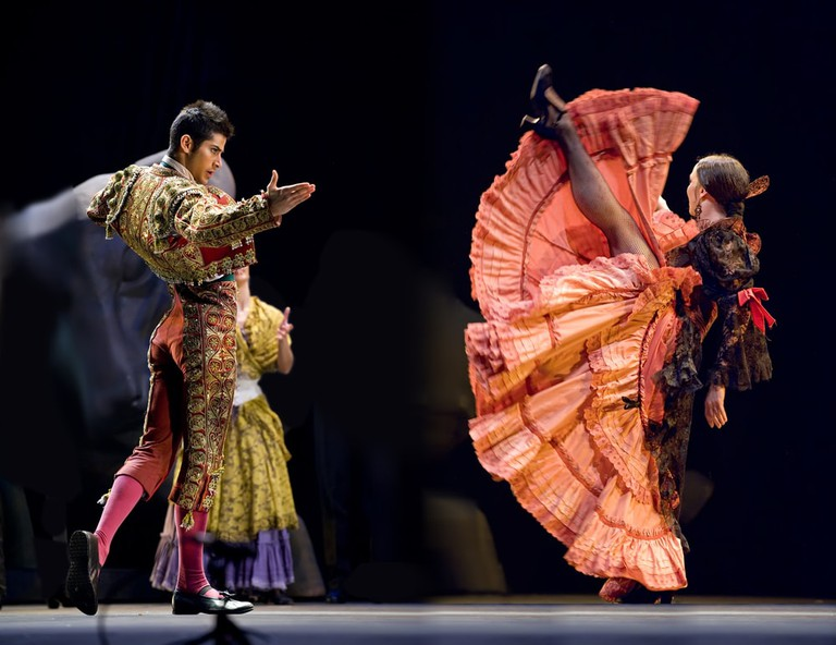 The Ballet Troupe of Spanish Rafael Aguilar, Spain