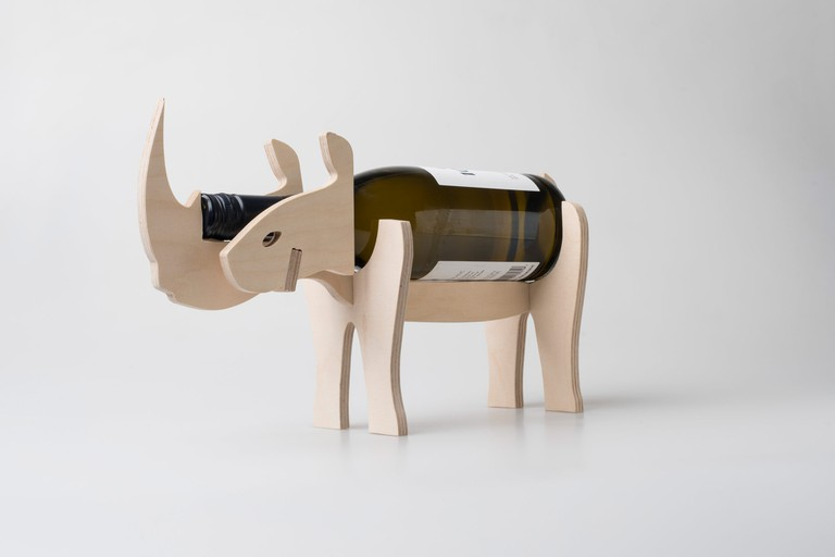 Native Décor wine bottle holder