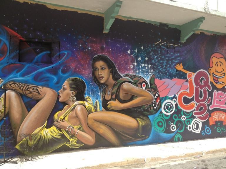 Street art in Santurce