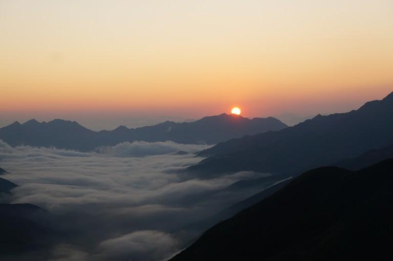 Sun Rise at Ta Xua