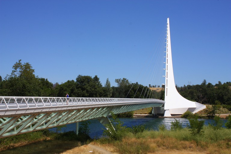 The Sundial Bridge at Turtle Bay Exploration Park