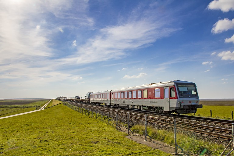 See the German countryside by train