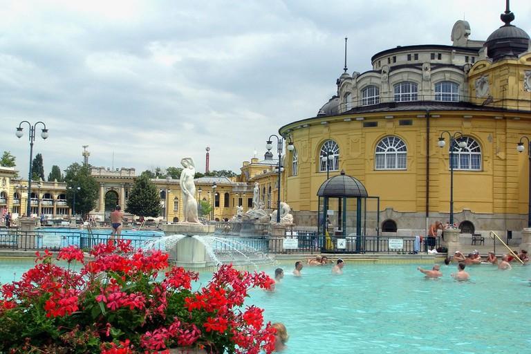 Széchenyi Baths, Budapest