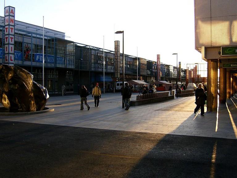 Street in Itäkeskus/ Wikicommons