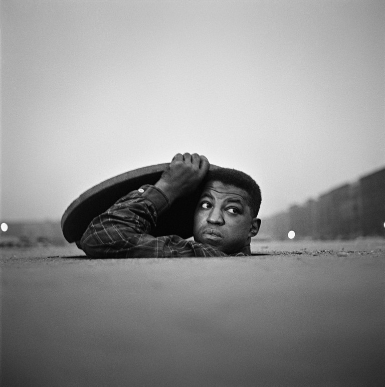 The Invisible Man, Harlem, New York, 1952