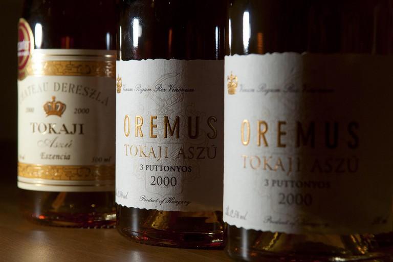 Hungarian Tokaji Aszu wine