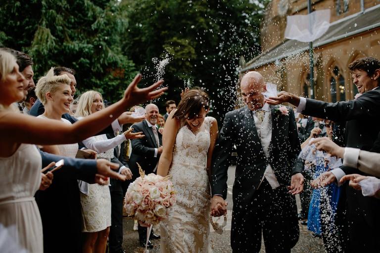 Wedding celebration   © Tom Pumford