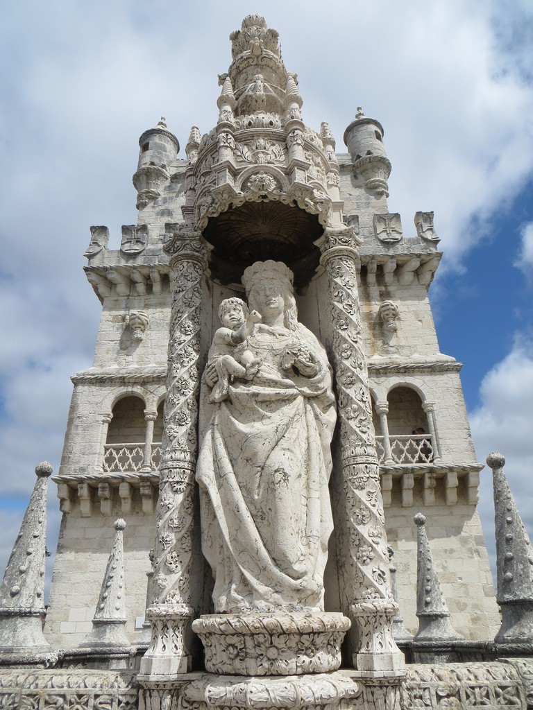 Our Lady of Safe Homecoming at the Belém Tower