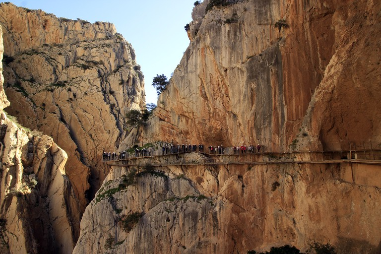 The Caminito del Rey pathway in Malaga; alfcermed, pixabay