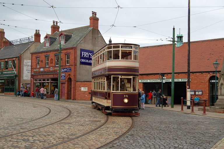 Tram at the Beamish Museum | © Draco2008:Flickr