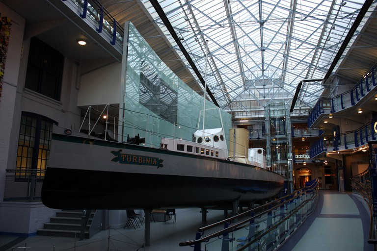 Turbinia at the Discovery Museum, Newcastle