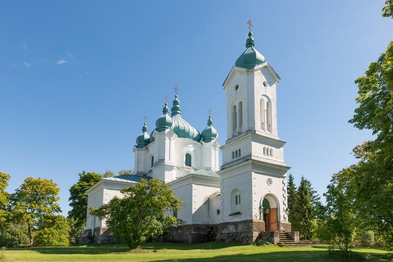 Beautiful churches on Saaremaa