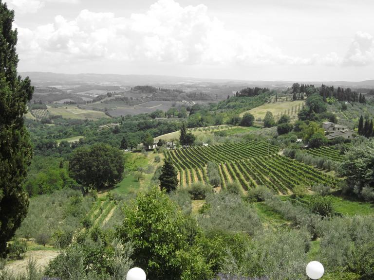 Views from San Gimignano