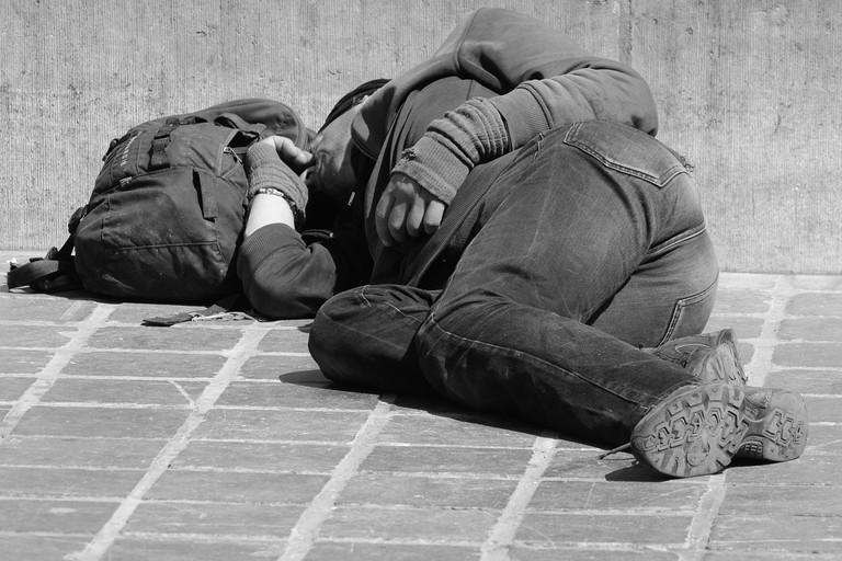 A homeless man in La Paz | © Ben_Kerckx/pixabay