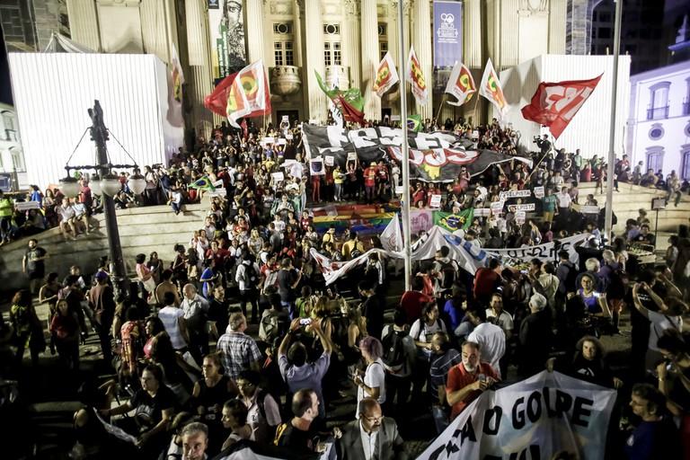Protests in Rio de Janeiro |© Mídia NINJA/Flickr