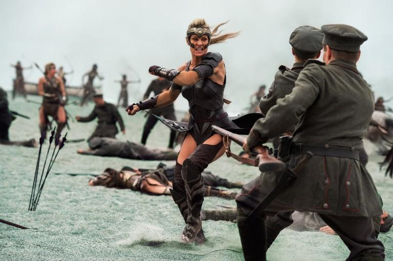 Robin Wright as General Antiope in Wonder Woman