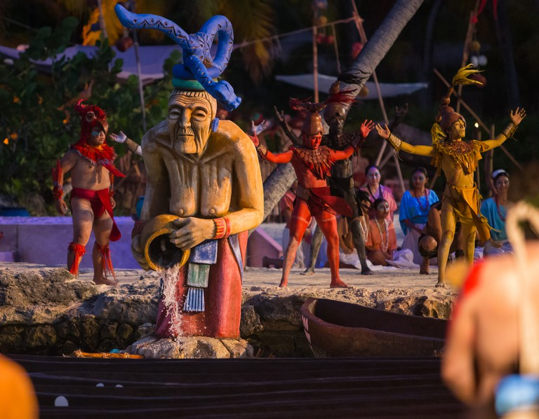 Dancers of the Sacred Mayan Journey