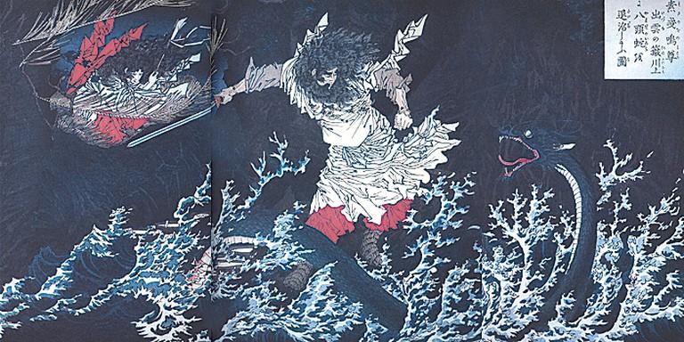 Nihon-ryakushi Susanoo-no-mikoto