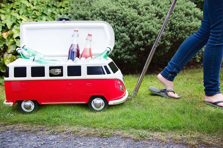 Ziehbare VW-Kühlbox