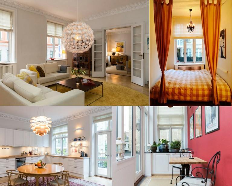 Classic renovated luxury apartment