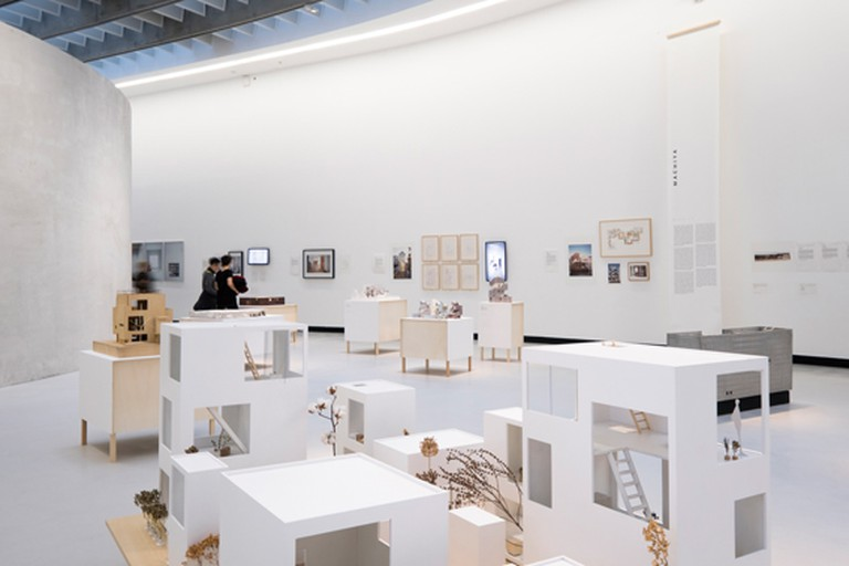Installation view in MAXXI, National Museum of the 21st Century Arts, Rome, 2016