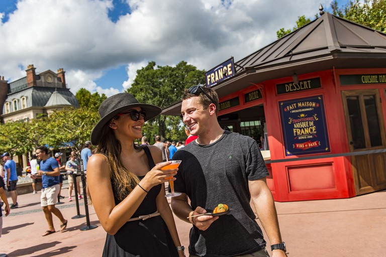 Disney's fall culinary extravaganza, the Epcot® International Food & Wine Festival