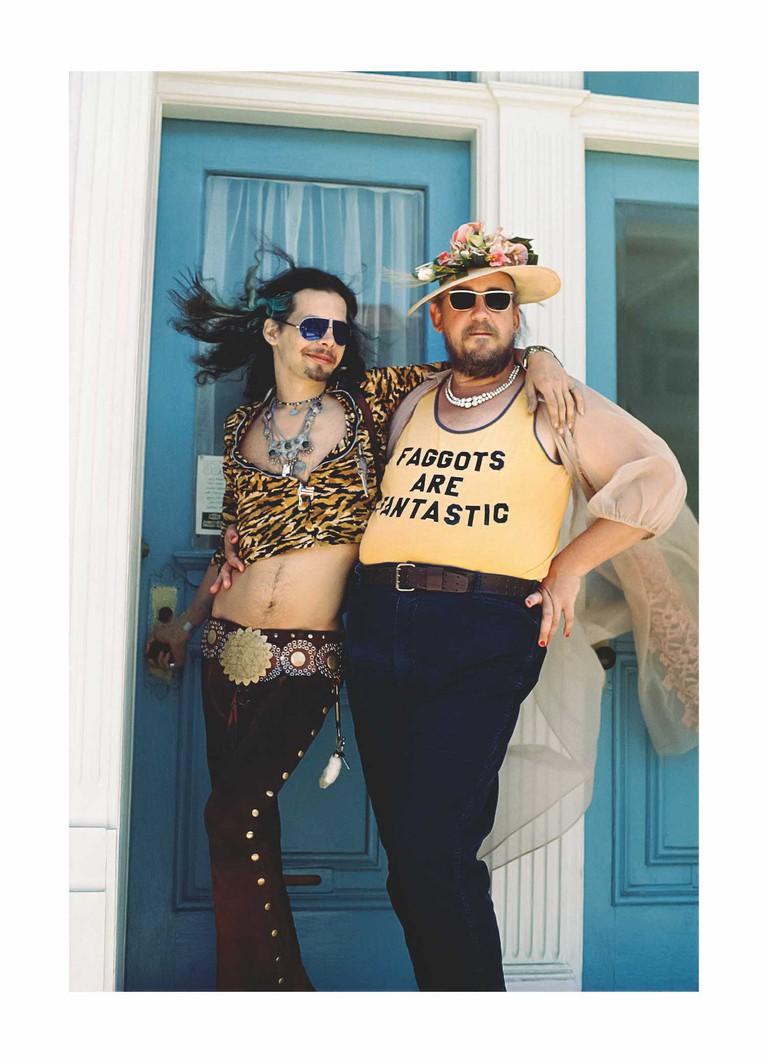 Harmodius and Hoti, Castro Street Fair August, 1975