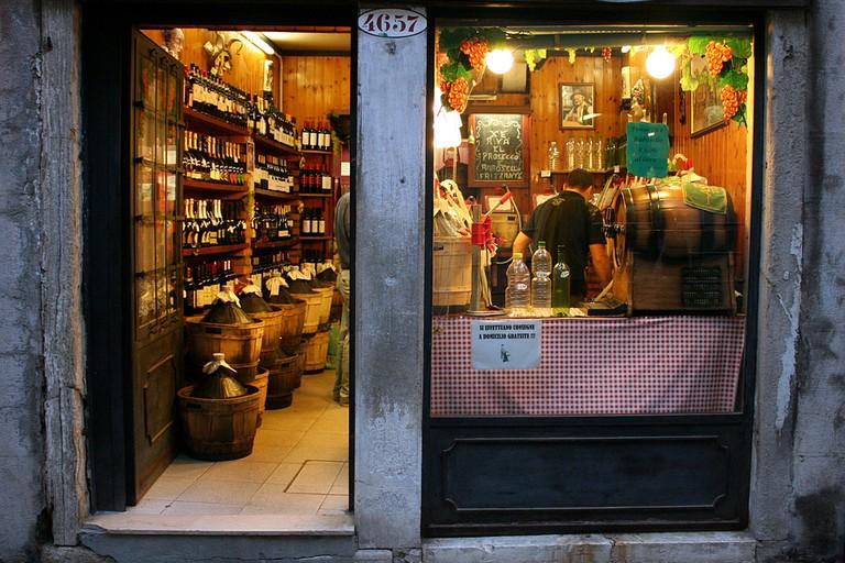 Venetian wine shop