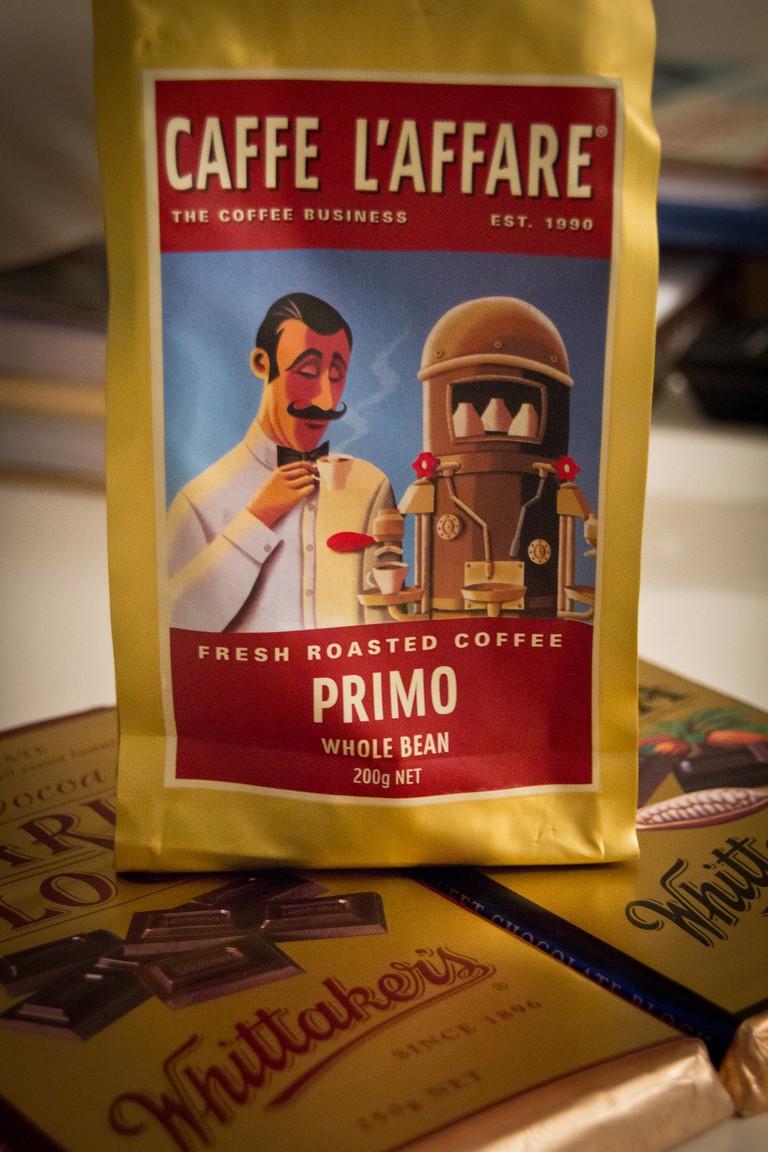 New Zealand Coffee and Chocolate