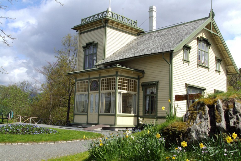 Edvard Grieg's house and museum