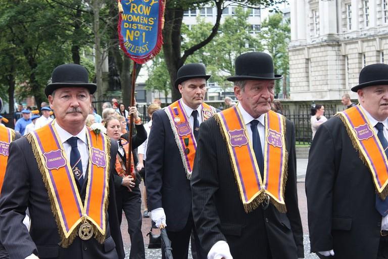 Formal Orange Order attire | © Ardfern / WikiCommons