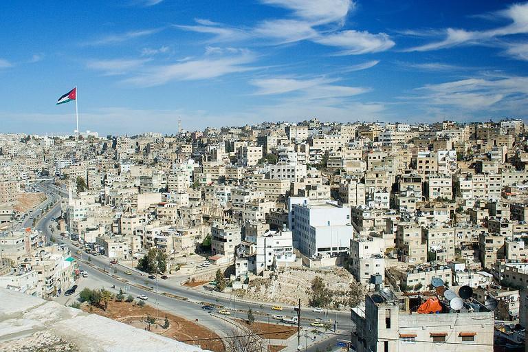 A view of Amman, the capital city of Jordan