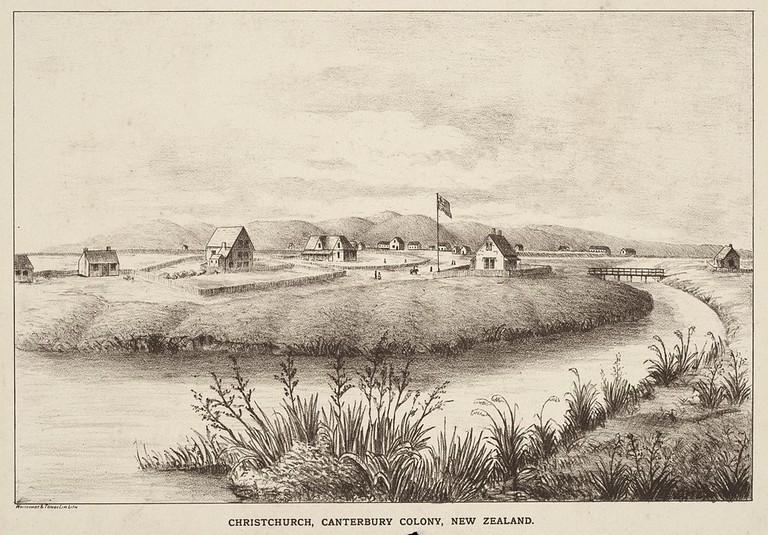 Christchurch in 1852