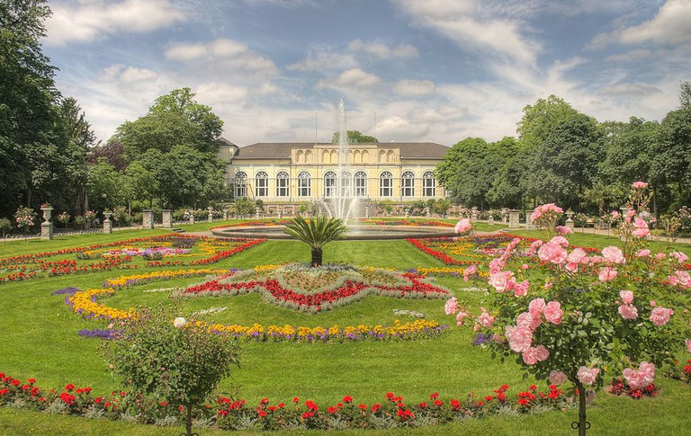 Cologne Flora & Botanical Gardens in summer