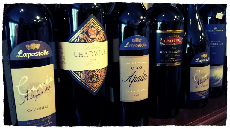 Premium Chilean Red Wines