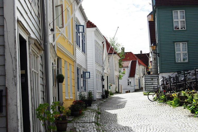 A street in the Klosteret area of Bergen