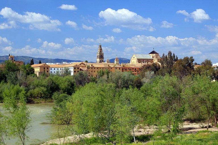 View of Córdoba with the Guadalquivir river in the foreground; Wolfgang Manousek, flickr