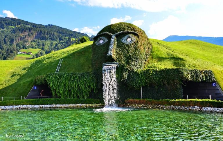 Swarovski Crystal world in Innsbruck